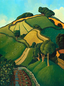 View from the Garden by Jo March (limited edition print)